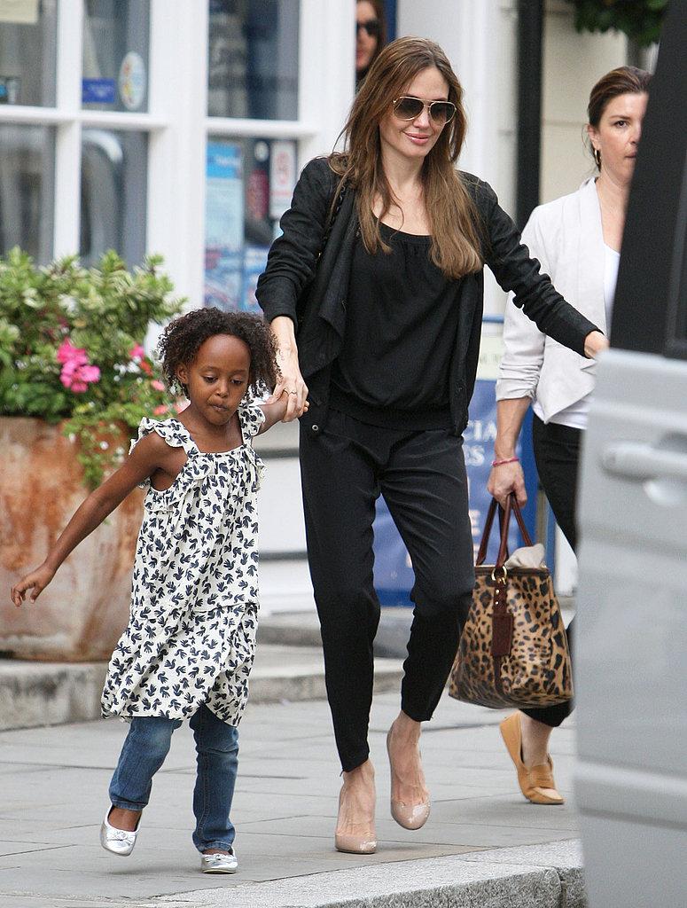 Angelina Jolie Street Style.