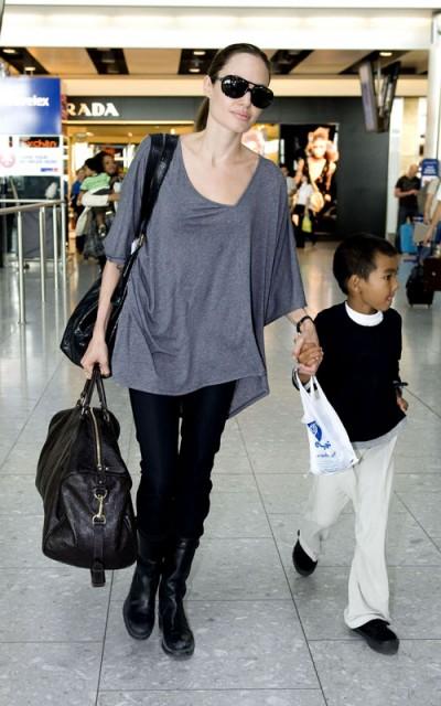 Angelina Jolie fall style