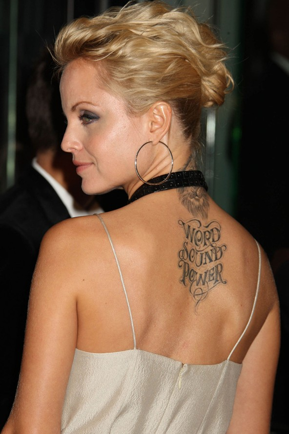 Blessed Hebrew Tattoo