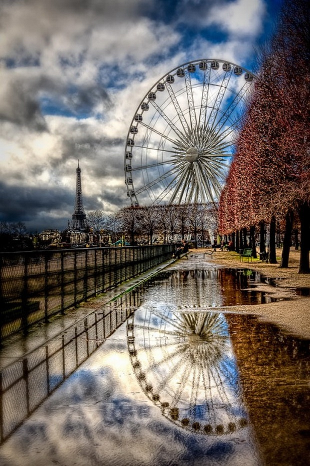 Tuileries, Paris
