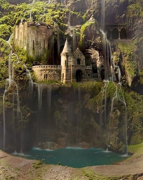 Waterfall Castle, The Enchanted Wood