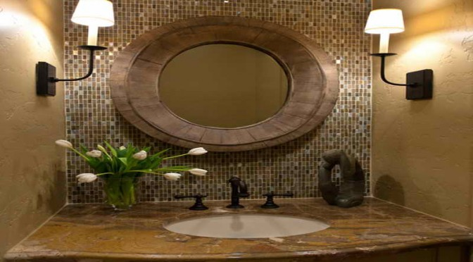 Great Ideas To Decorate Your Powder Room