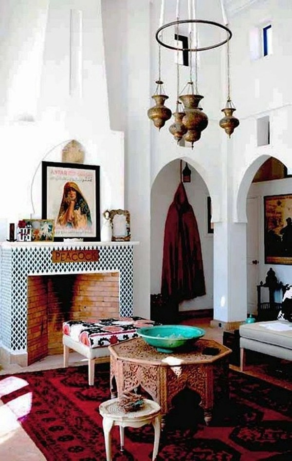 25 Modern Moroccan Style Living Room Design Ideas - The ... on Living Room Style Ideas  id=61586