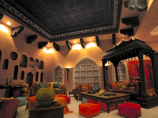 25 Modern Moroccan Style Living Room Design Ideas The