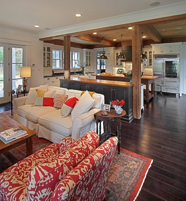 Open Concept Kitchen-Living Room Design Ideas - The WoW Style on Living Room Style Ideas  id=92244