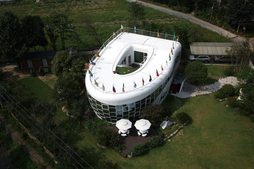 The Toilet-shaped House