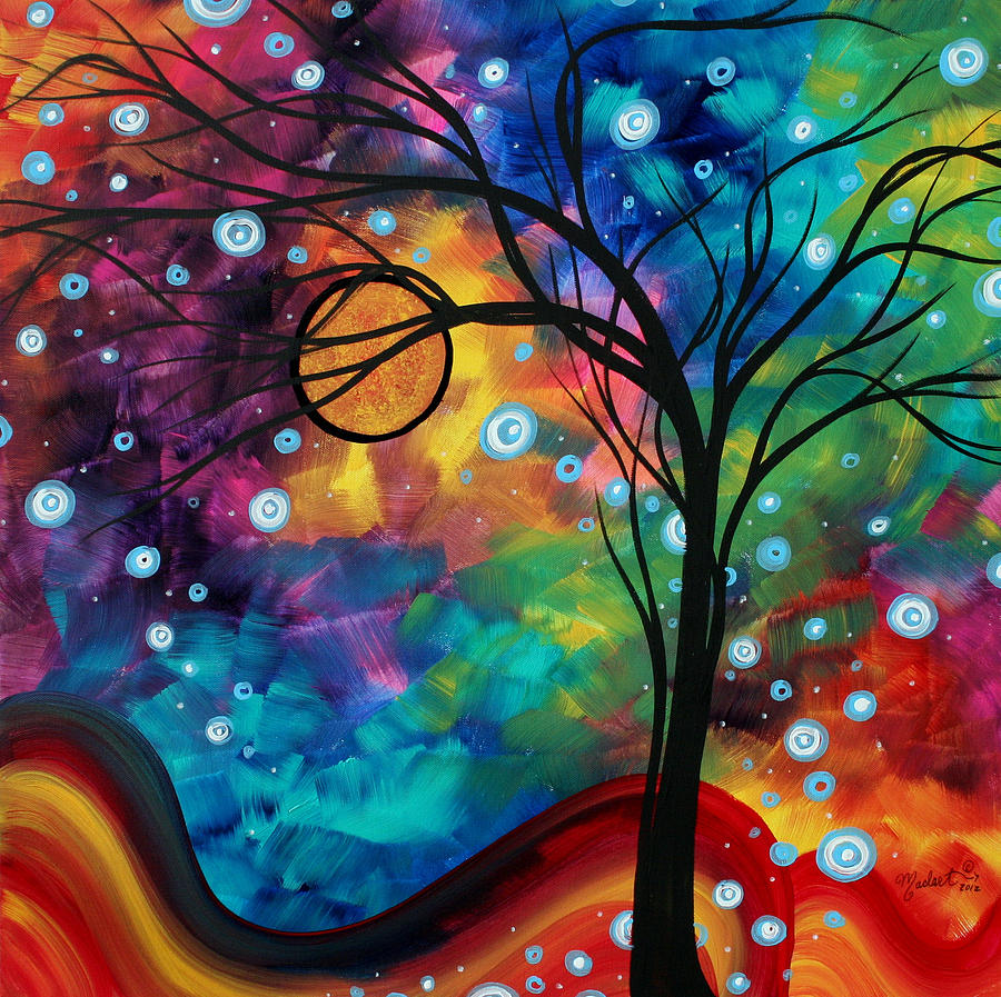 40 Abstract Art Design Ideas - The WoW Style on Modern Painting Ideas  id=95394