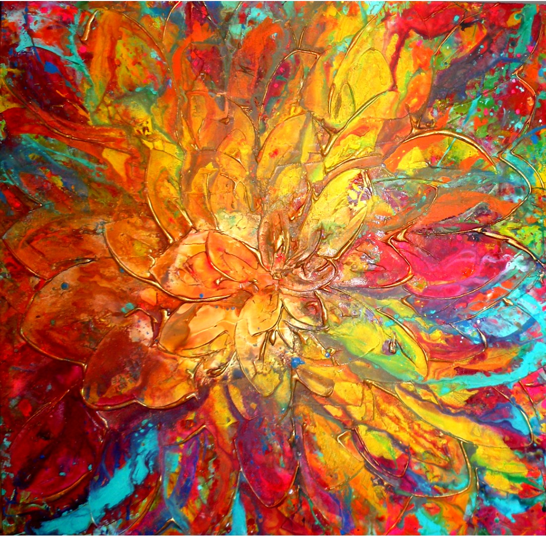 40 Abstract Art Design Ideas - The WoW Style on Modern Painting Ideas  id=30951