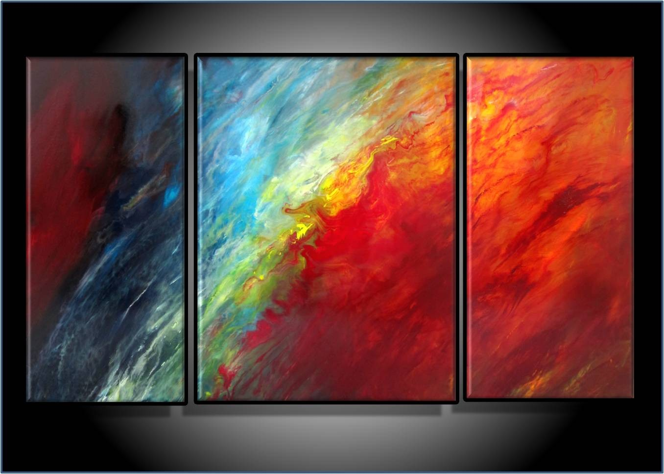 40 Abstract Art Design Ideas - The WoW Style on Modern Painting Ideas  id=67466