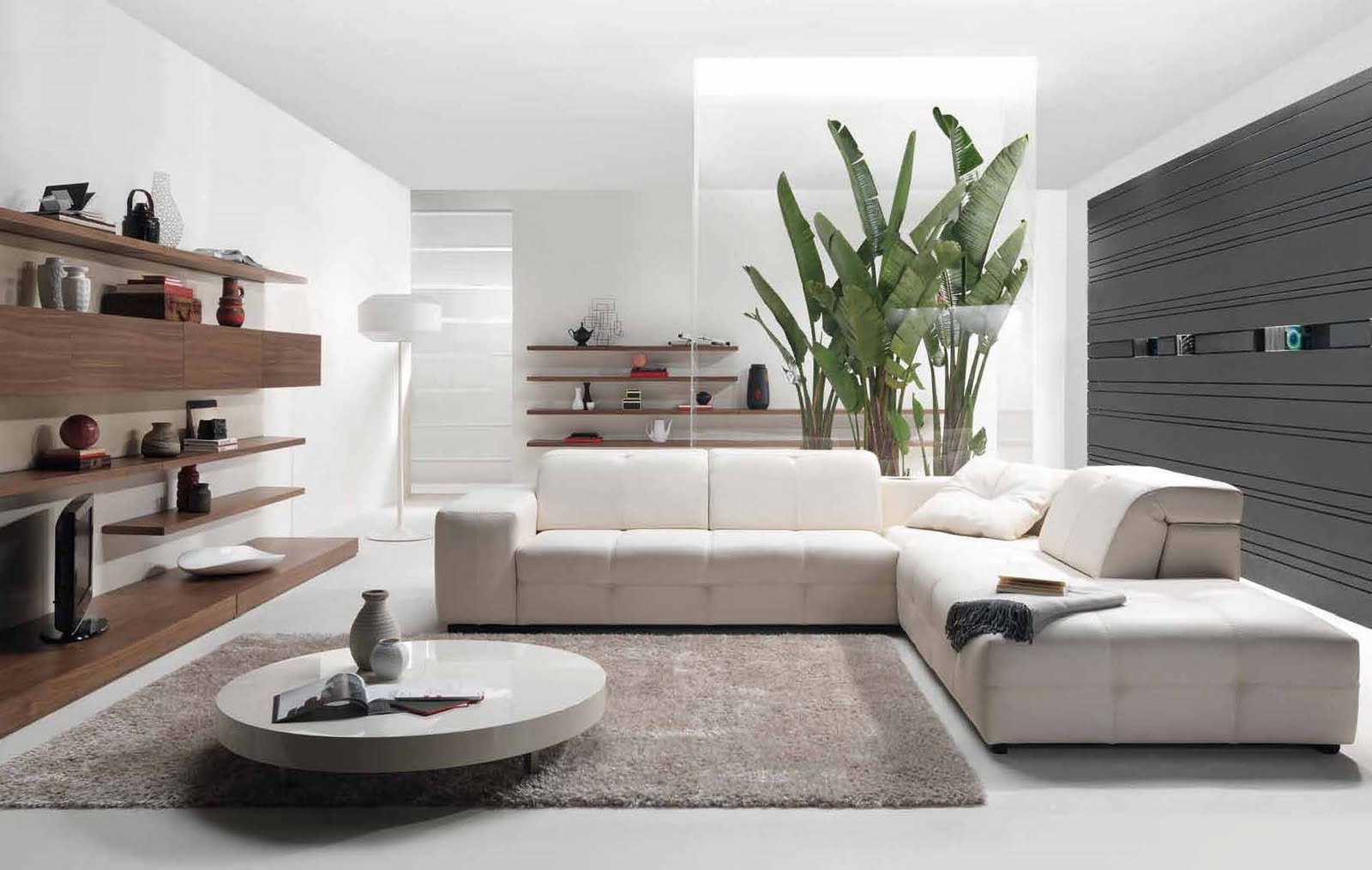 35 Contemporary Living Room Design - The WoW Style on Living Room Decor  id=23796