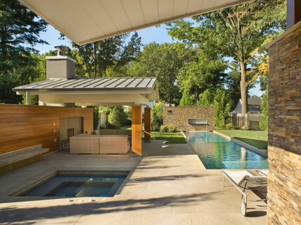 35 Outdoor Living Spaces with Hot Bathing Experience - The ... on Outdoor Living Spa id=19905