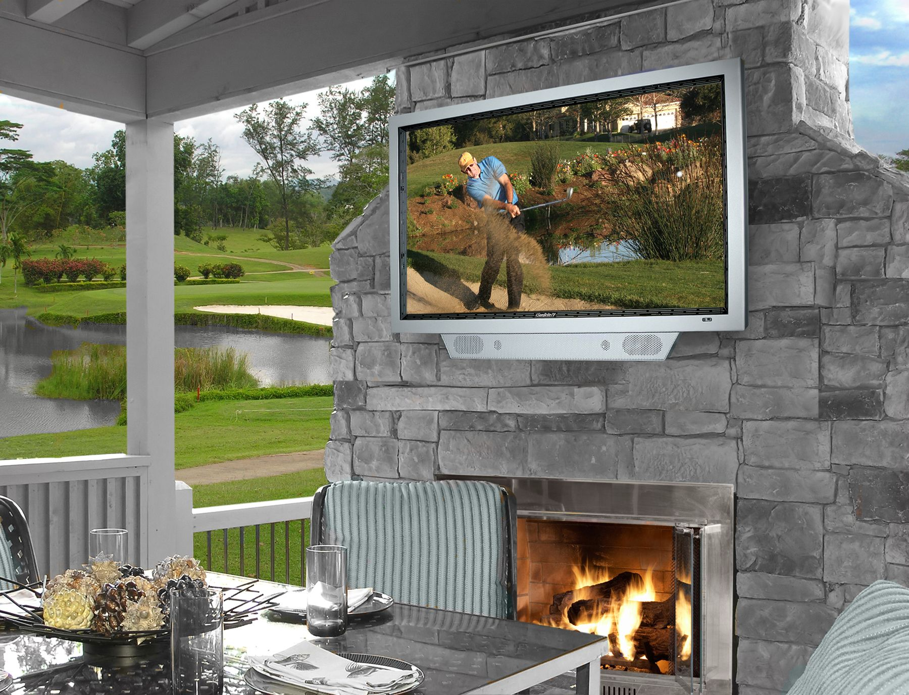 35 Outdoor Living Space For Your Home - The WoW Style on Outdoor Living Patio id=72044