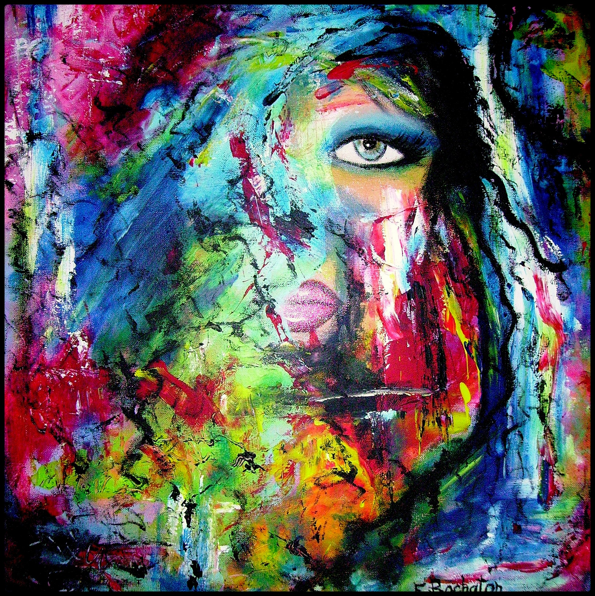 40 Abstract Art Design Ideas - The WoW Style on Modern Painting Ideas  id=29397