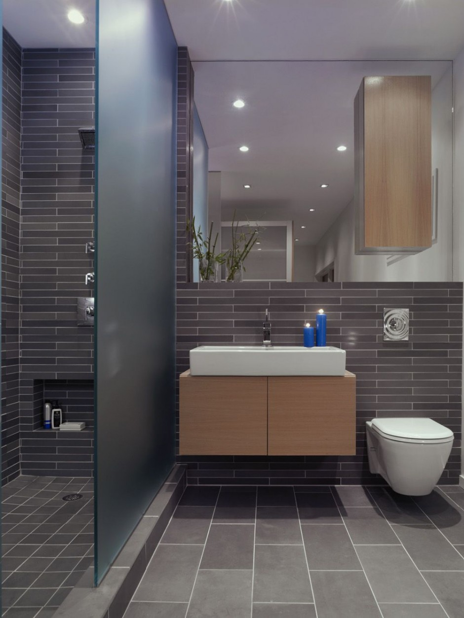33 Modern Bathroom Design For Your Home - The WoW Style on Modern Small Bathroom  id=87364