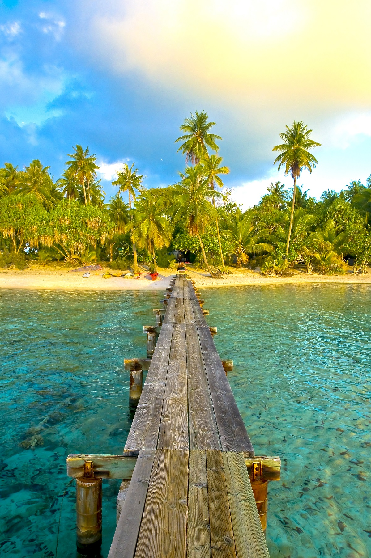 Motu Tetaraire - Tahiti, French Polynesia