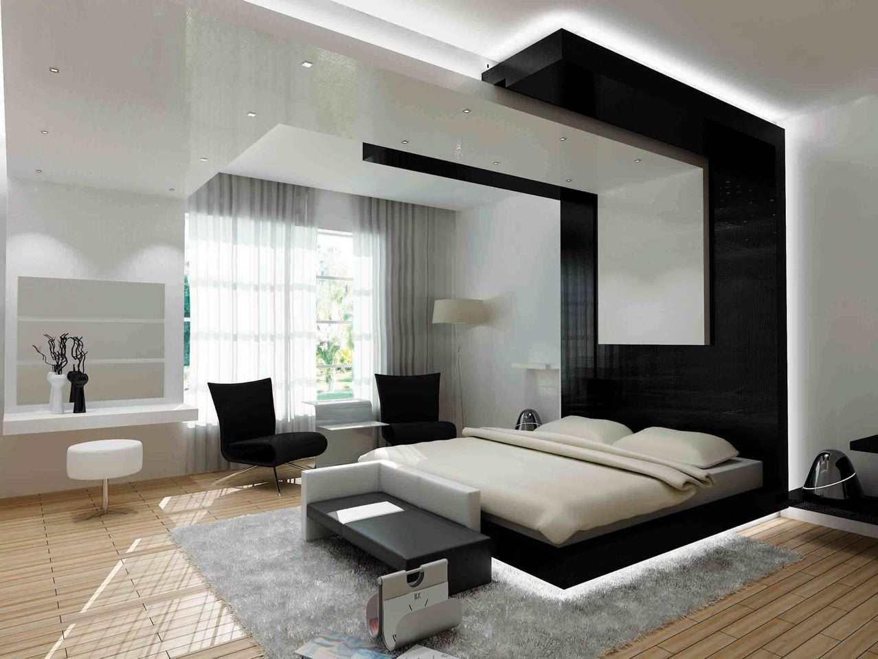 30 Contemporary Bedroom Design For Your Home - The WoW Style on Room Decore  id=77314