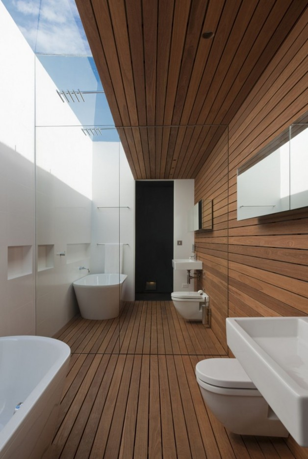 33 Open Bathroom Design For Your Home - The WoW Style on Contemporary:kkgewzoz5M4= Small Bathroom Ideas  id=42770