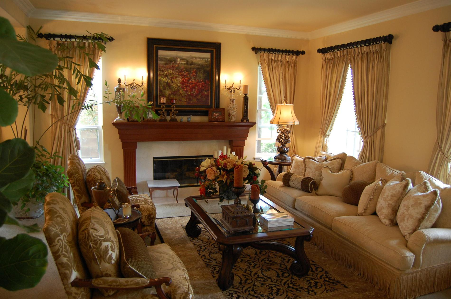 33 Traditional Living Room Design - The WoW Style on Photo Room Decor  id=23916