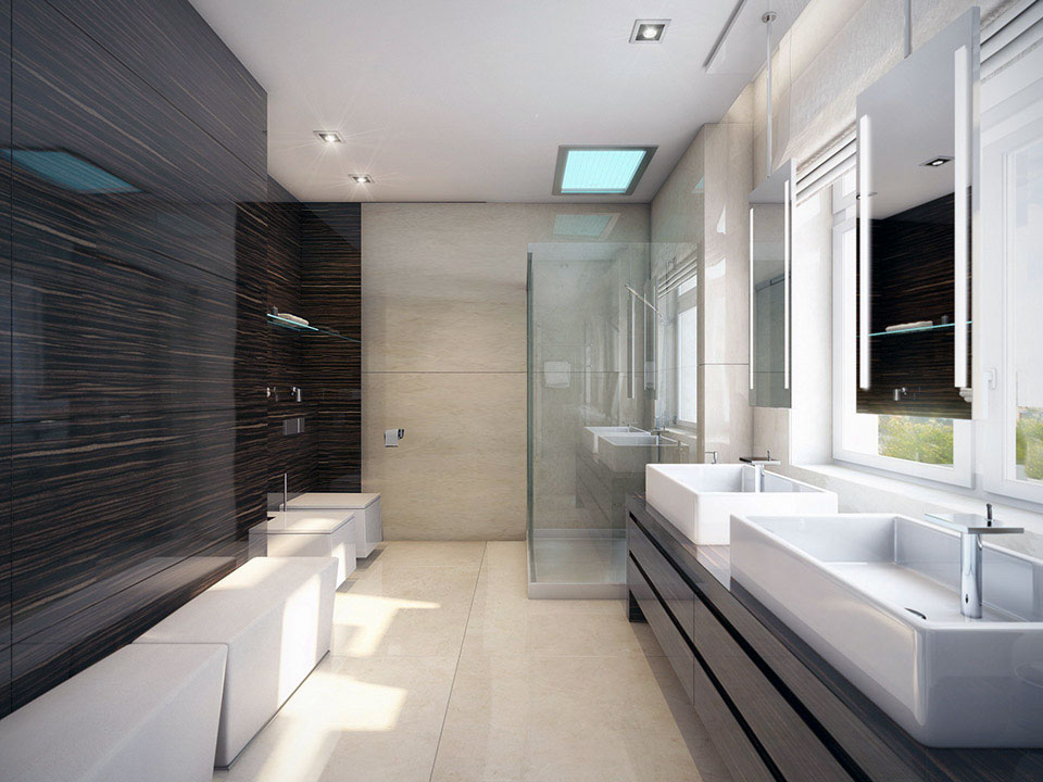 33 Modern Bathroom Design For Your Home - The WoW Style