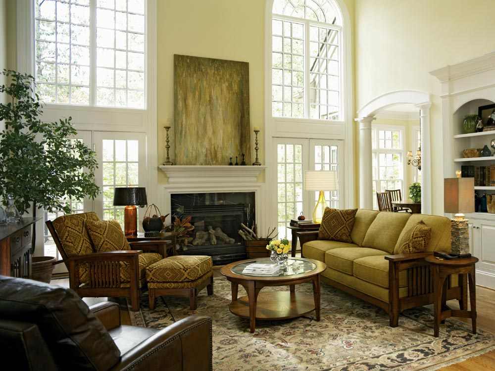 33 Traditional Living Room Design - The WoW Style on Living Room:5J0Grrq-Soy= Curtains Design  id=34094
