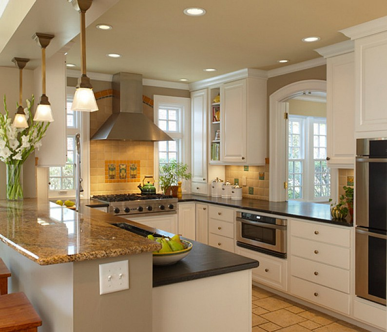 28 Small Kitchen Design Ideas - The WoW Style on Small Kitchen Remodel  id=14173