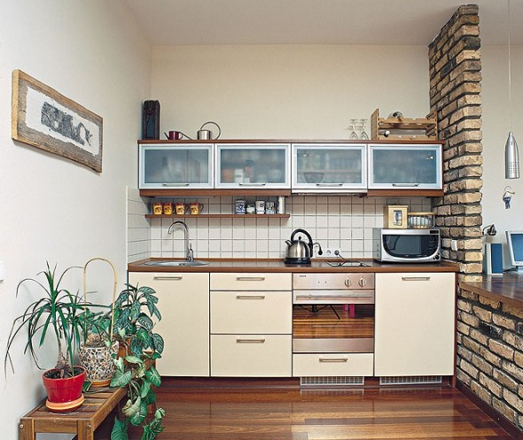 28 Small Kitchen Design Ideas - The WoW Style on Best Small Kitchens  id=49122