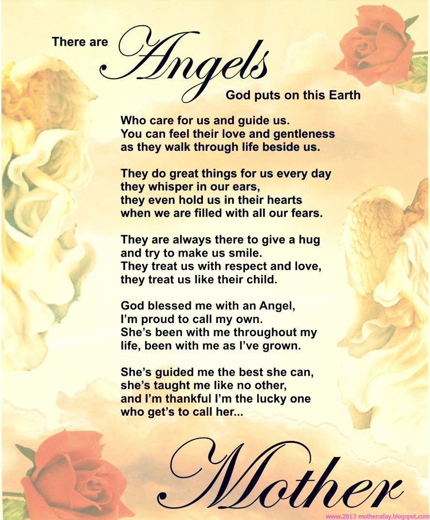 Best Mothers Day Poems The WoW Style
