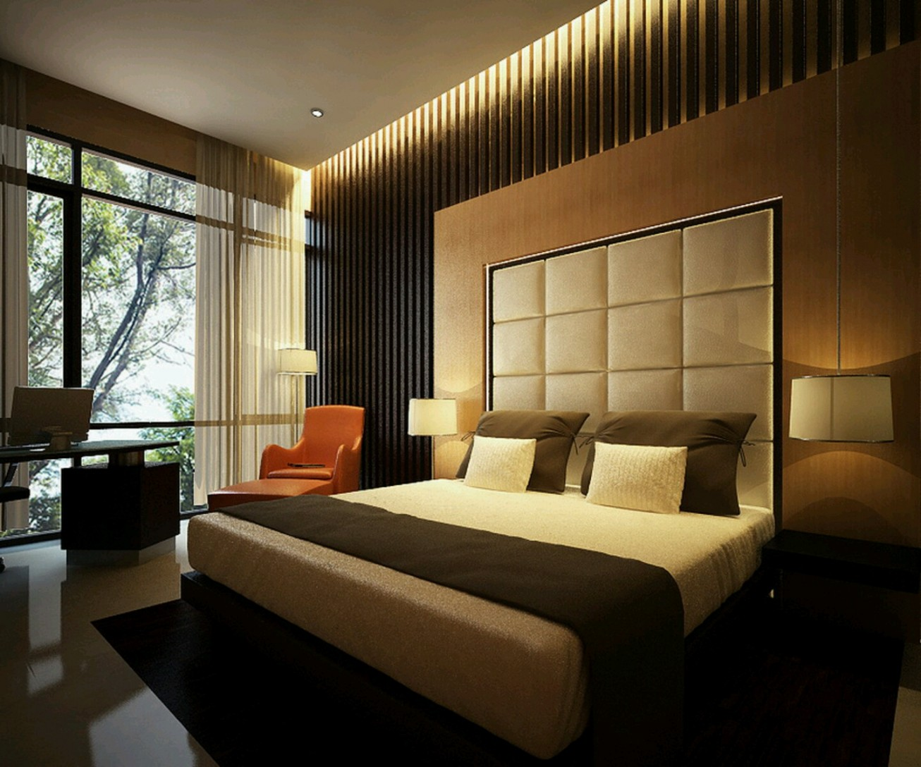 25 Cool Bedroom Designs Collection - The WoW Style on Room Decore  id=23925