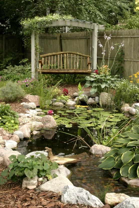 Amazing Backyard Pond Design Ideas - The WoW Style on Landscape Pond Design id=83379