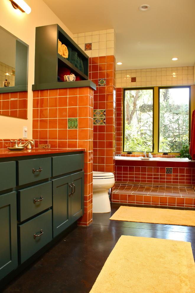 25 Southwestern Bathroom Design Ideas - The WoW Style on Remodel:ll6Wzx8Nqba= Small Kitchen Ideas  id=78890