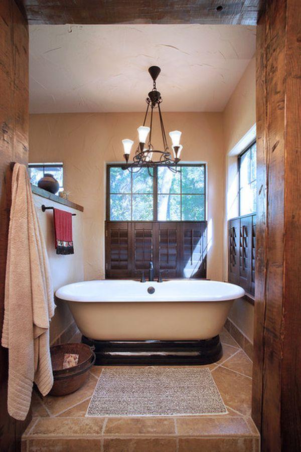 25 Southwestern Bathroom Design Ideas - The WoW Style on Remodel:xmqi70Klvwi= Small Kitchen Ideas  id=64068