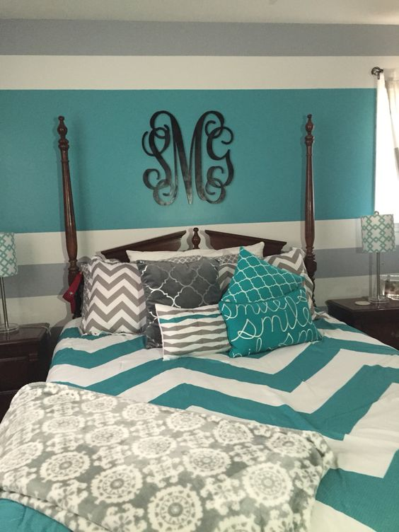 21 Breathtaking Turquoise Bedroom Ideas - The WoW Style on Cool:gixm0H5Sni4= Bedroom Ideas  id=24353