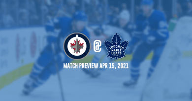 Jets @ Maple Leafs Preview (Apr 15, 2021)