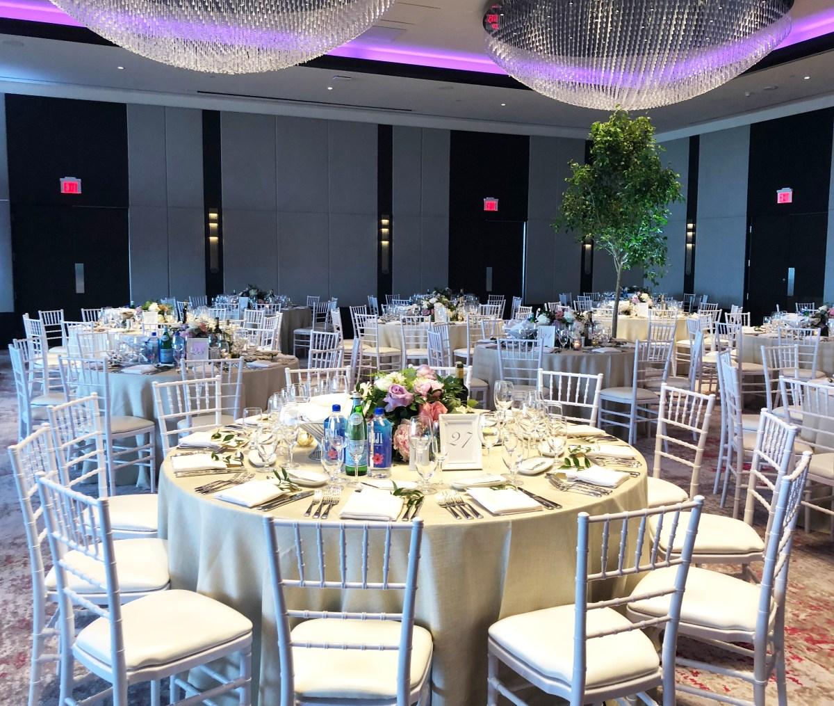Lakefront Luxury Weddings At Hotel X Toronto The Wedding Planner