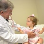 Doctor and child at the Clarks Summit Practice  | TheWrightCenter.org