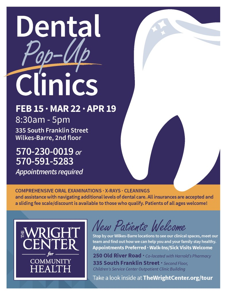 Dental Pop Up Clinic and Primary Care 8.5x11