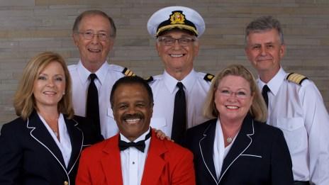 Love Boat Cast Godparents of the Regal Princess - Princess Cruises