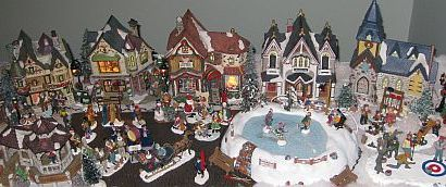 The 3rd Day of Christmas Traditions with Vancouver's Top Mommy Bloggers: A Christmas Village
