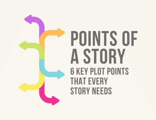 Points of a Story: 6 Key Plot Points that Every Story Needs