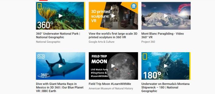 فيديوهات الواقع الافتراضي في منصة Learn at Home