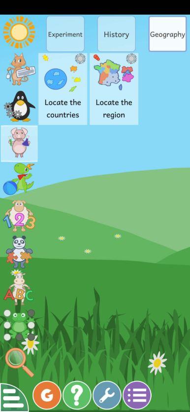 تعلم الجغرافيا للاطفال