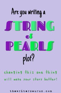 writing a string of pearls plot