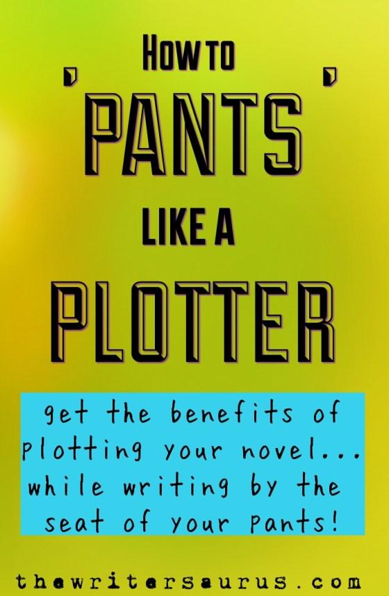 Pants like a plotter