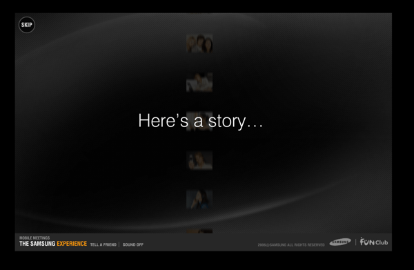 Samsung Experience Website