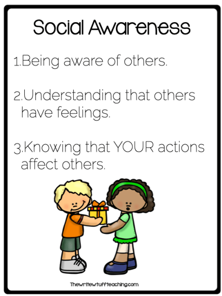 Social Awareness 3 things