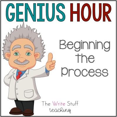 Genius Hour Beginning