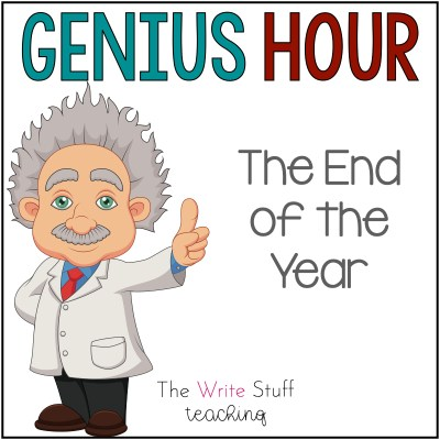 Genius Hour End of the Year