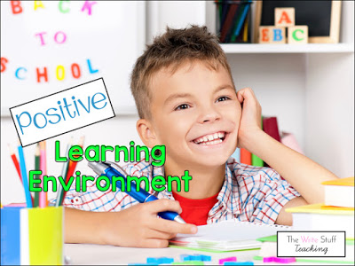 Classroom Management: Positive Learning Environment