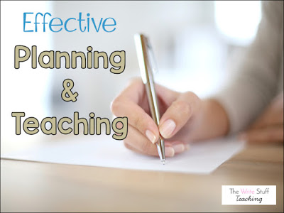 Classroom Management: Effective Planning and Teaching