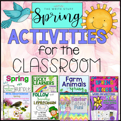 Spring Ideas for Your Classroom